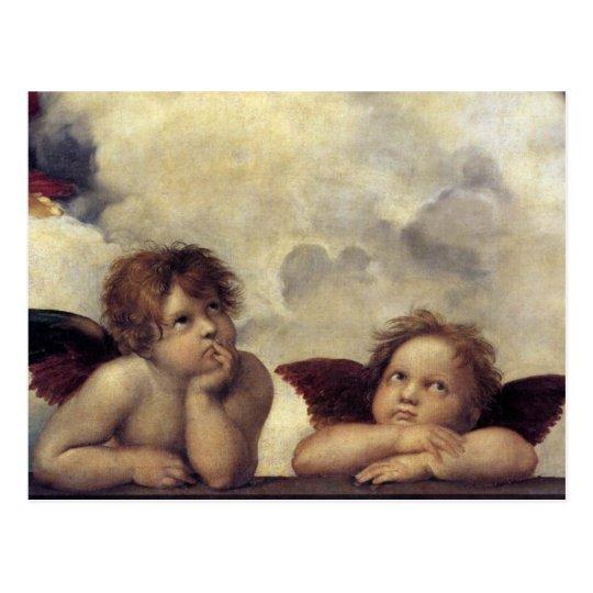 Raphael's Angels Postcard