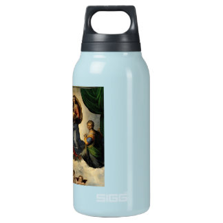 """Raphael's Classic """"Sistine Madonna"""" (circa 1513) Insulated Water Bottle"""