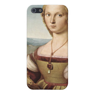 Raphael's Lady with a Unicorn iPhone Case