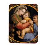 Raphael's Madonna della sedia Flexible MAGNET