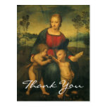 Raphael's Madonna of the Goldfinch Post Cards