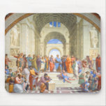 Raphael's School of Athens (Plato and Aristotle) Mousepads