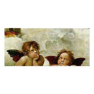 "Raphael's ""Sistine Madonna"" (circa 1513) (Detail) Rack Cards"