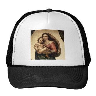 "Raphael's ""Sistine Madonna"" Detail (circa 1513) Trucker Hat"