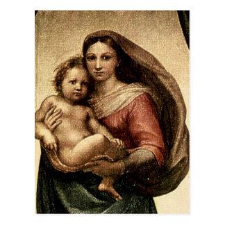 "Raphael's ""Sistine Madonna"" Detail (circa 1513) Post Card"