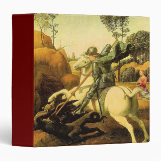 "Raphael's ""St. George and the Dragon"" (circa 1505) Binder"