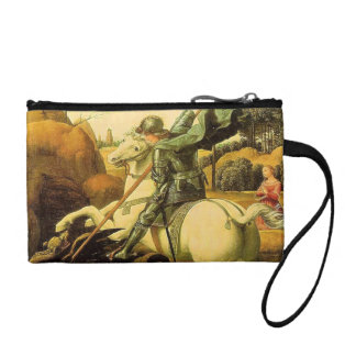 "Raphael's ""St. George and the Dragon"" (circa 1505) Coin Purse"