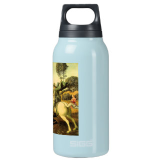 """Raphael's """"St. George and the Dragon"""" (circa 1505) Insulated Water Bottle"""