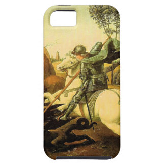 """Raphael's """"St. George and the Dragon"""" (circa 1505) iPhone SE/5/5s Case"""