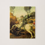 "Raphael's ""St. George and the Dragon"" (circa 1505) Jigsaw Puzzle"