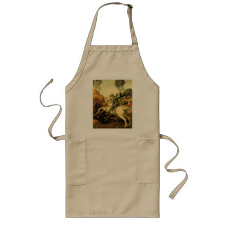 "Raphael's ""St. George and the Dragon"" (circa 1505) Long Apron"