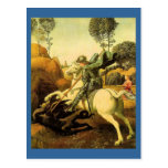"Raphael's ""St. George and the Dragon"" (circa 1505) Postcards"