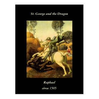 "Raphael's ""St. George and the Dragon"" (circa 1505) Postcard"