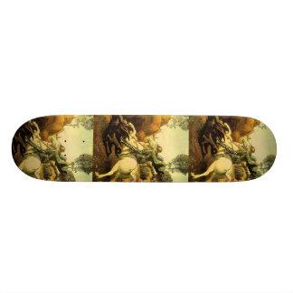"Raphael's ""St. George and the Dragon"" (circa 1505) Skateboard"