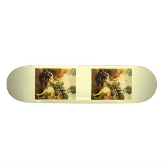 "Raphael's ""St. George and the Dragon"" (circa 1505) Skateboard Deck"