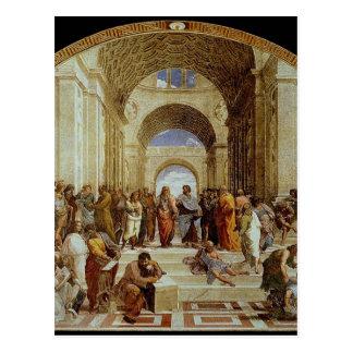 "Raphael's ""The School of Athens"" (circa 1511) Post Card"