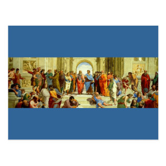 """Raphael's """"The School of Athens"""" Detail circa 1511 Post Cards"""