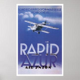 Rapid Azur Air Union Poster