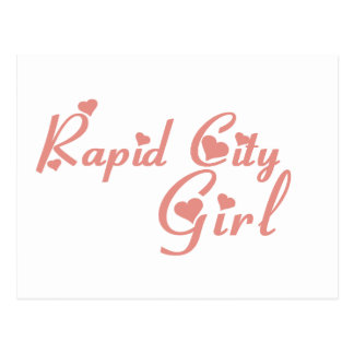 Rapid City Girl tee shirts Postcards