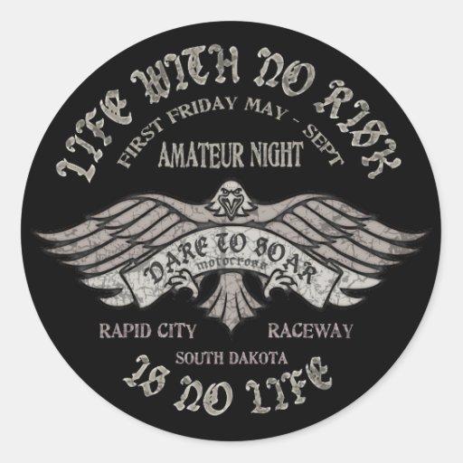 Rapid City Raceway Classic Round Sticker
