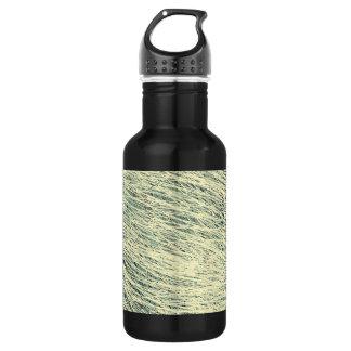 Rapid Scribble Pattern Stainless Steel Water Bottle