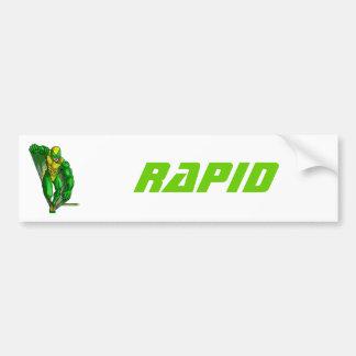 Rapid The Celtic Knights Speedster Car Bumper Sticker