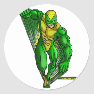 Rapid The Celtic Knights Speedster Classic Round Sticker