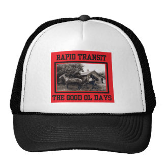 Rapid Transit Trucker Hat