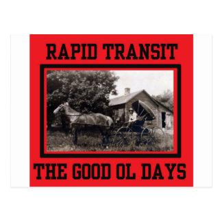 Rapid Transit Postcard