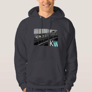 Rapid-transit railway driving hooded sweatshirt