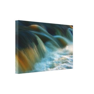Rapid Water Wrapped Canvas