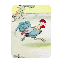 Rapidly Running Rooster Magnet