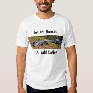 Rápido sin café remeras