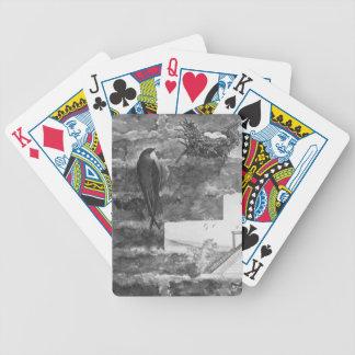 Rápido y jerarquía de chimenea barajas de cartas