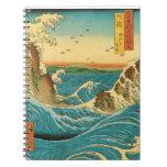 Rapids de Hiroshige Navaro Libro De Apuntes