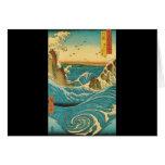 Rapids de Hiroshige Navaro Tarjetas