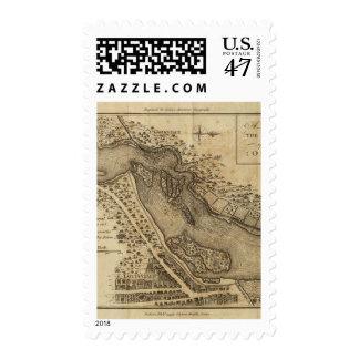 Rapids de Ohio Sello Postal