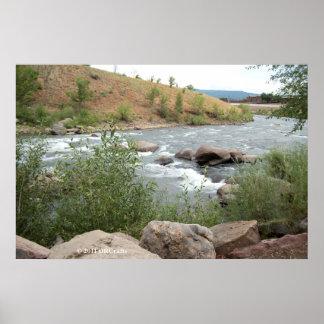Rapids del río de los Animas Impresiones