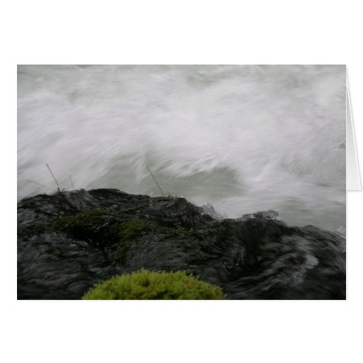 Rapids en el río del rugido tarjetas