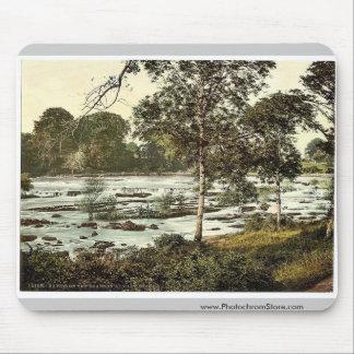 Rapids en el Shannon. Co. Quintilla, Irlanda rara Alfombrilla De Ratón