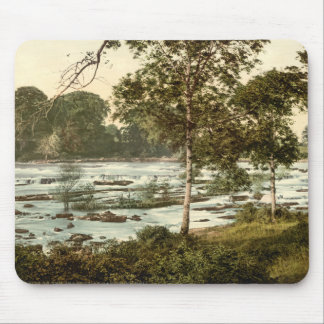 Rapids en el Shannon, quintilla del condado Alfombrillas De Ratones