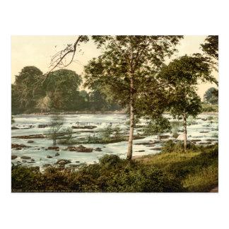 Rapids en el Shannon, quintilla del condado Tarjeta Postal