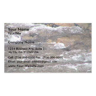Rapids Fast Flowing Stream Business Card Templates