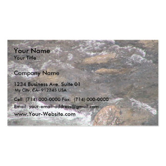 Rapids Fast Flowing Stream Business Cards