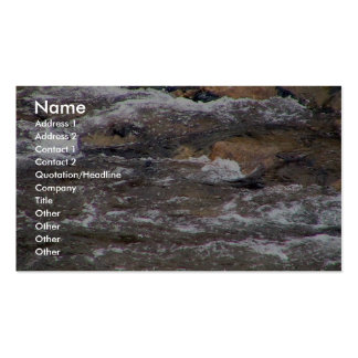 Rapids Fast Flowing Stream Business Card