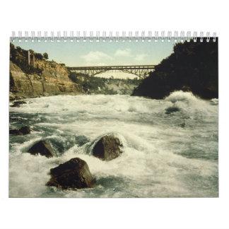 Rapids Niagara Falls Nueva York 1898 de Whirlpool Calendarios De Pared