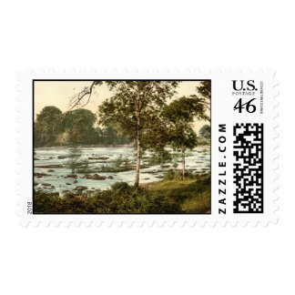 Rapids on the Shannon County Limerick Stamp