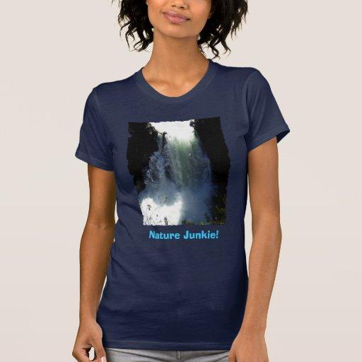 RAPIDS & WATER-FALL Nature Lover T-Shirt