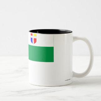 Rapla Flag Two-Tone Coffee Mug