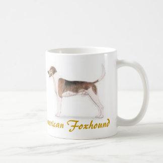 ¡Raposero americano amante del perro a montones Taza